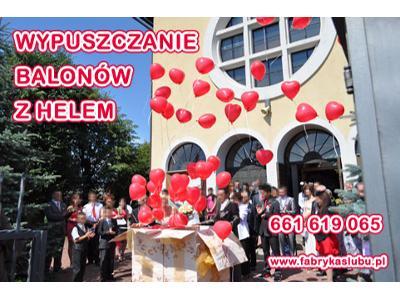 Balony z helem Rzeszów Podkarpacie - kliknij, aby powiększyć