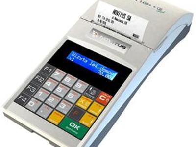 Kasa fiskalna dedykowana dla lekarzy - kliknij, aby powiększyć