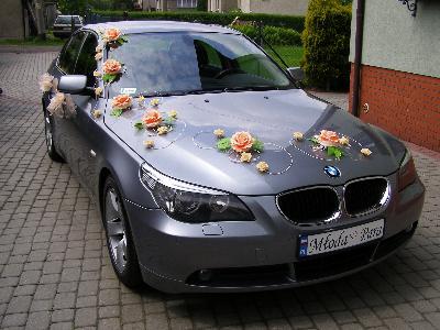 Ekskluzywne  BMW serii 5 DO ŚLUBU - kliknij, aby powiększyć