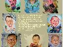 Portrety, karykatury, karykatury portretowe, cała Polska