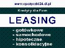 Leasing dla Firm Sucha Beskidzka Leasing, Sucha Beskidzka, Maków Podhalański, Stryszawa, małopolskie