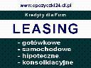 Leasing dla Firm Myszków Leasing Samochodowy, Myszków, Koziegłowy, Poraj, Żarki, Niegowa, śląskie