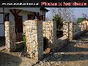 Ogrodzenie z kamienia ogrodzenia z piaskowca, Kielce, świętokrzyskie