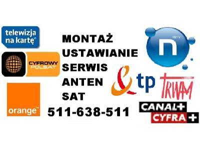 Montaż Serwis Anten Satelitarnych Kraków i okolice TANIO SZYBKO SOLIDNIE - kliknij, aby powiększyć