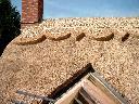 Strzecha,krycie strzechą,dachy z trzciny,, biskupiec, warmińsko-mazurskie