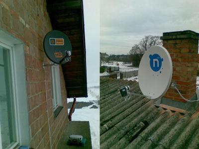 Anteny satelitarna Cyfra+, Polsat, N, - kliknij, aby powiększyć