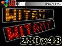 Reklama diodowa 280x48 - Panel LED, ekran diodowy, Tarnowskie Góry, śląskie