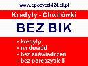 Kredyty Jasło Kredyty bez BIK Jasło Kredyty, Jasło, Skołyszyn, Nowy Żmigród, Tarnowiec, podkarpackie