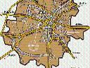 """Zdjęcie nr 4 """"Mapa miasta - Kielce"""""""