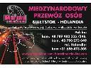 Przejazdy do Holandii (podlaskie, mazowieckie), Białystok, Zambrów, Warszawa, Łódz, Poznań, podlaskie