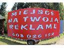 REKLAMA MOBILNA ŚWIETOKRZYSKIE PRZYCZEPA REKL.    , Kielce, świętokrzyskie