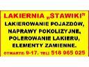 lakiernia samochodowa naprawy powypadkowe , Katowice, śląskie