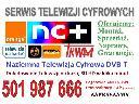 montaż anten,ustawienie anteny,telewizja na kartę,trwam,DVB-T,doładowa, Lubin, dolnośląskie