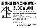 Usługi Remontowo-Budowlane, Opole, Wrocław, Brzeg, Nysa, opolskie