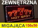 77777 HOT SPOT REKLAMA, TABLICA LED zewnętrzna, miga+PILOT, Gliwice, śląskie