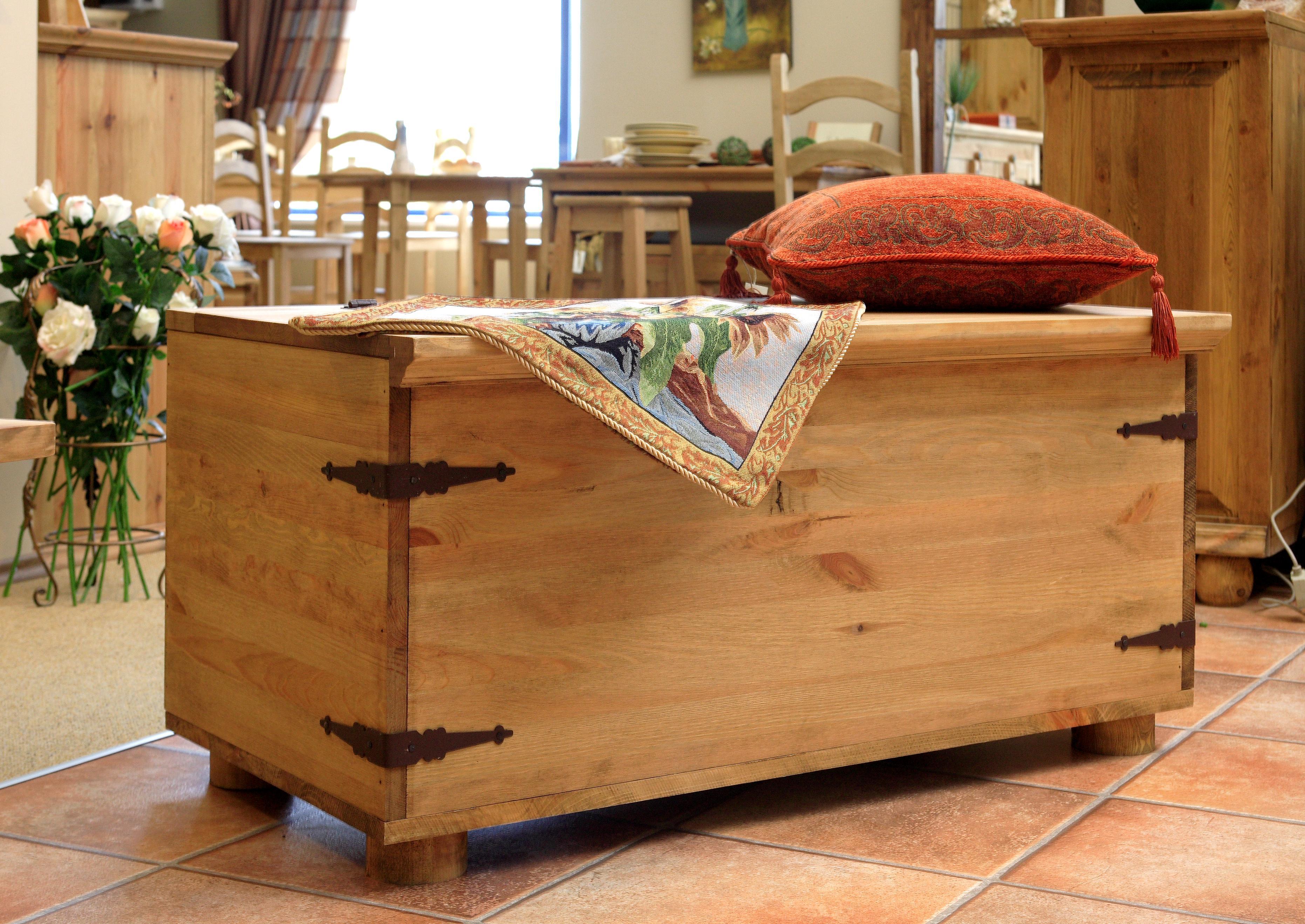 Rustykalna komoda, meble drewniane, biblioteka drewniana, kuchnia - Galeria: zdjęcie 11 z 14 ...