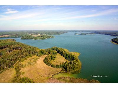 Fotografia i filmy z powietrza - Jezioro Łańskie - kliknij, aby powiększyć