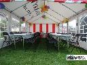 Zdjęcie nr 6 namiot bankietowy 4m x 8m wnętrze ustrojone