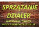 Sprzątanie działek Warszawa, Usługi ogrodnicze Warszawa, Koszenie, Warszawa, mazowieckie
