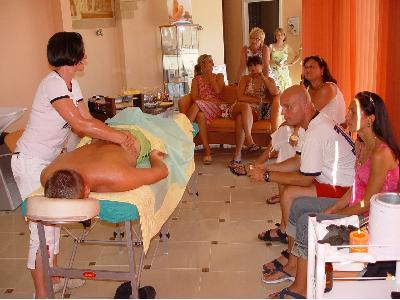 Promocyjny pokaz masażu  - kliknij, aby powiększyć