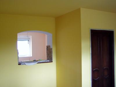 Gładzie gipsowe, malowanie - kliknij, aby powiększyć