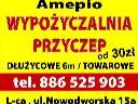 Wypożyczalnia Przyczep LEGNICA, przyczepki wynajem, przyczepy , Legnica, dolnośląskie
