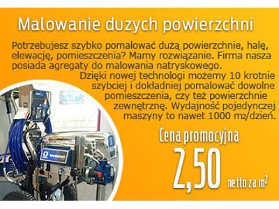 Świeże Malowanie natryskowe - Śląsk, KATOWICE, śląskie - Favore.pl RD31