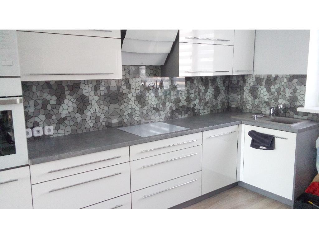 Najnowsze Grafika na szkle. Szkło do kuchni. Szklane panele kuchenne BE54