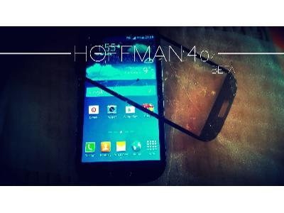 Uszkodzona Szybka w Telefonie: Samsung - kliknij, aby powiększyć