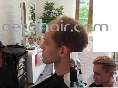 Nowoczesny Tupet Męski Hair System Rekonstrukcja Włosów Produkty Favore Pl