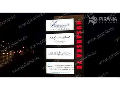 Pylon Podświetlany LED - kliknij, aby powiększyć