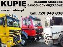 Skup ciężarówek, ciągników siodłowych i rolniczych, złomowanie, mazowieckie