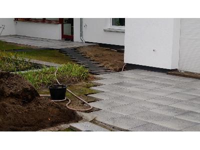 Kostka brukowa granit  tarasy oczka wodne , ogrody, malowanie i inne, Krosno Odrzanskie (lubuskie)