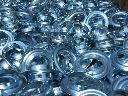 Przelotki metalowe fi 40 mm srebrne  hurtowe dostawy