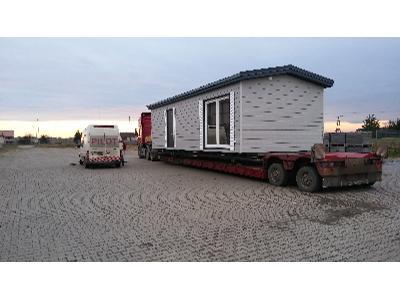 Transport domków mobilnych Angielskich Holenderskich domek przewóz , Wołomin (mazowieckie)