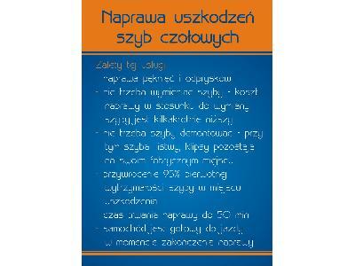 Świeże AUTO - SZYBY NAPRAWA WYMIANA SZYB SAMOCHODOWYCH - Krzeszowice XL96