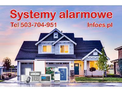 Alarm, systemy alarmowe, niskonapięciowe, montaż czujników