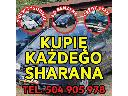 Skup VW Sharan, Każdy Kupię Sharana 2.0 Benzyna / Kupię Toyote,Kaczka,Atos,VW Golf 1.8, Warszawa, mazowieckie