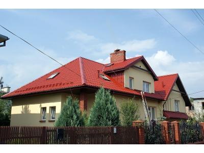 Malowanie dachów agregatem hydrodynamicznym  - kliknij, aby powiększyć