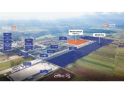 Działka przemysłowa przy autostradzie A4, MPZP, media, idealny dojazd, Osła (dolnośląskie)