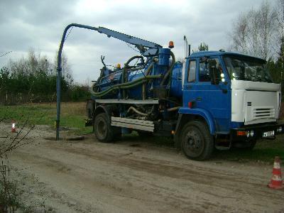 pojazd wuko do czyszczenie kanalizacji z jednoczZdjęcie nr 1 - kliknij, aby powiększyć
