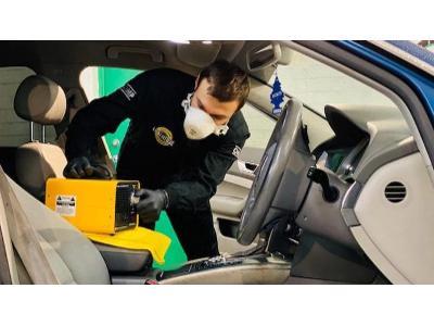 Ozonowanie samochodu - kliknij, aby powiększyć