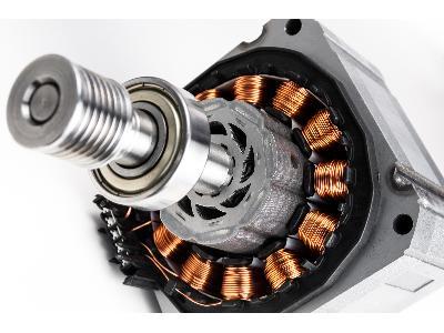 silnik elektryczny - kliknij, aby powiększyć
