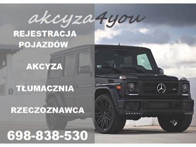 Pomoc w rejestracji pojazdu - kliknij, aby powiększyć