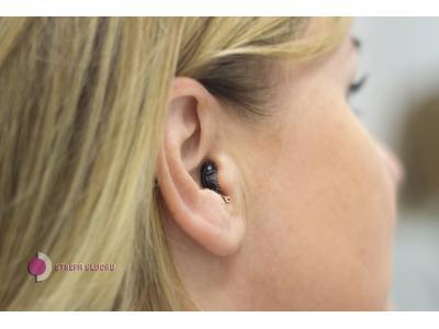 Dyskretny aparat słuchowy wewnętrzuszny - kliknij, aby powiększyć