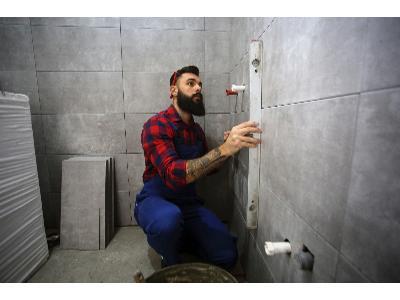 wykończenie łazienki - kliknij, aby powiększyć