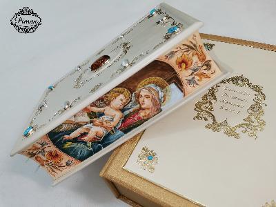 Biblia w skórzanej oprawie. Wyjątkowe Pismo Święte na prezent.